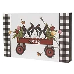 Spring Wagon Box Sign