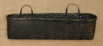 Long Oval French Wall Basket - Choose Color