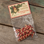MINI CHENILLE CANDYCANE /SET 12