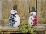 Medium Country Snowmen Honey & Me