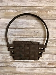 Handmade Primitive Wall Door Basket by Gin