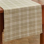 Fieldstone Plaid Table Runner - 36