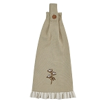 Embroidered Cotton Hand Towel