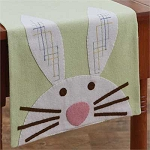 Bunny Felt Table Runner - 42