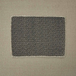 Mini Dots Print Placemat - Slate