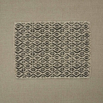 Diamond Print Placemat - Slate