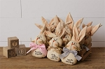 Cheeky Bunnies in a Crate - Dream, Sunshine, Enjoy