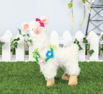 Small Floral Vine Llama Stander