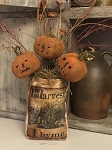Handmade Pumpkin Pokes on Sticks
