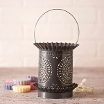 Jumbo Wax Warmer with Chisel in Country Tin