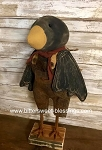 Primitive Handmade Black Crow 20