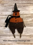 Handmade Witch Hat Pumpkin 10