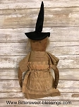 Handmade Primitive Witch Doll 16