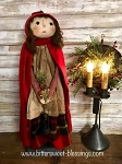Handmade Madeline Doll with Cape and Lantern by Bearing in Love