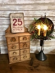 December 25th Christmas Day Handmade Sign 5.5
