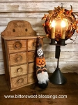 Handmade Fall Halloween Gnome 14