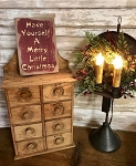 Have Yourself A Merry Little Christmas Handmade Sign 5.5