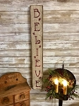 Believe Handmade Sign 26