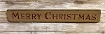Merry Christmas Handmade Sign 26