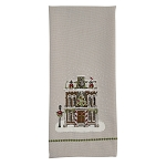 Town Hall Printed&Embroidered Dishtowel