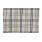 Alpine Plaid Placemat - Natural
