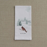 Winterland Towel - Calm Cardinal