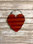 Small Handmade Metal Red Heart 6