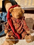 Arnett's Santa Bear in a Nightgown and Cap Handmade