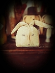 Handmade Primitive Bunny Head