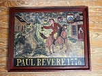 Hand Painted Paul Revere 1776 Painting by Kathy Grabill