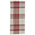 Peppermint Plaid Dishtowel