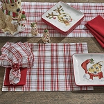 Holiday Kisses Placemat
