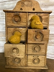 Primitive Handmade Chicks 3