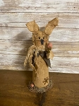 Handmade Primitive Bunny Rabbit 13