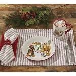Holiday Tree Stripe Placemat