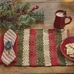 Oh Christmas Tree Chindi Placemat