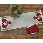 Barn Felt Table Runner - 42