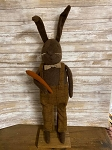 Handmade Bunny Rabbit with Carrot 36