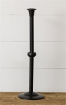 Black Candlestick, 17.5 Inches