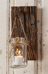 Wall Decor - Hanging Mason Jar