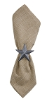 Star Galvanized Napkin Ring