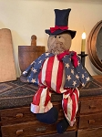 Handmade Uncle Sam Americana Doll