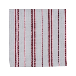 Railroad Stripe Napkin Red & White