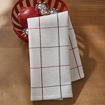 Christmas Windowpane Towel