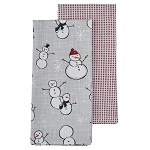 Snow Family 2 Towel Set