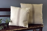 GRAIN SACK PILLOW-GRAY 20