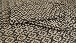 BRAMWELL WEAVE SHORT TABLE RUNNER - BLACK/TAN 14