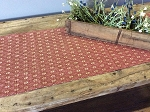 PACKSVILLE ROSE CRANBERRY LINEN LONG RUNNER 14
