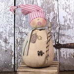 Salvage Peace Love Joy Snowman