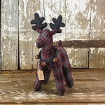 Franz Medium Plaid Standing Deer 14
